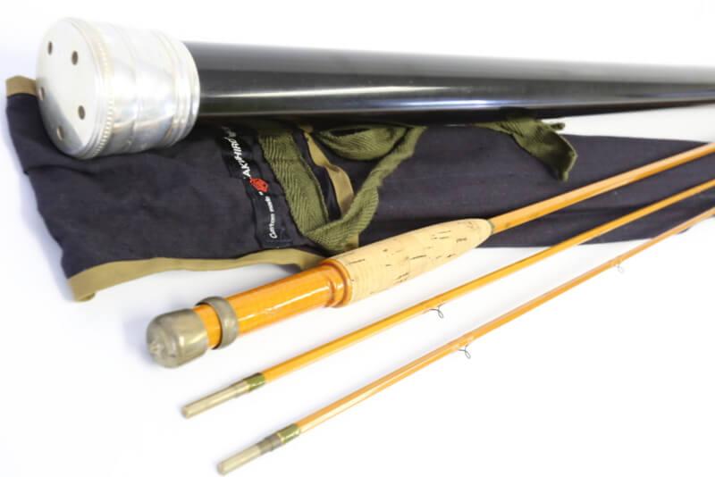 カクヒロ ロッドは、一点一点丁寧に制作されている国内のバンブーフライロッドのトップビルダー的存在です。