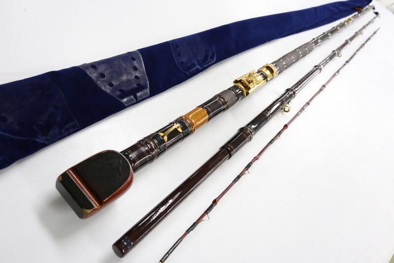 瀧澤作の石鯛竿