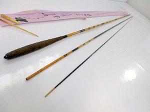 へら竿 【孤舟 和竿 約2.8m】中古