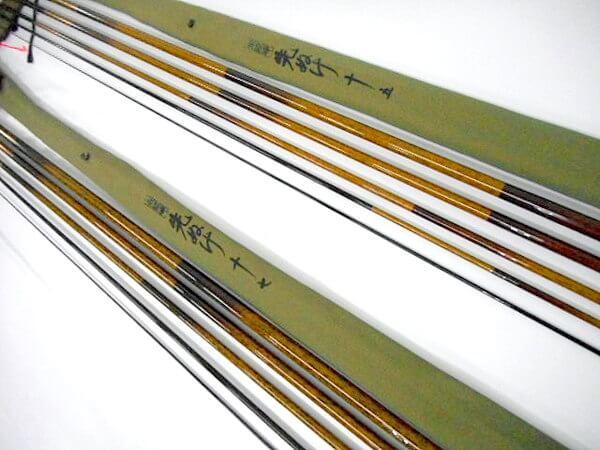 シマノのヘラ竿の写真