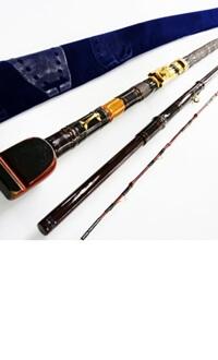 瀧澤作 石鯛 和竿 秘竿 総漆塗りタイプ5.6m 3本継