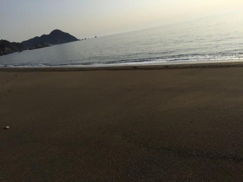 浜でカワハギ釣り 【大分エリア】