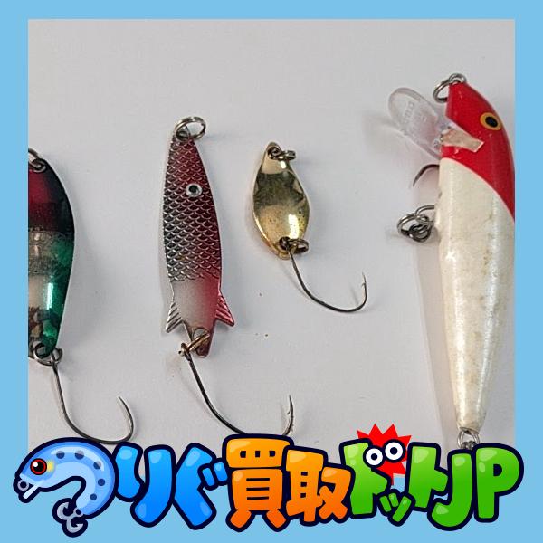 釧路川でアメマス釣りをする時に使うルアー